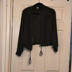 H&M Lightweight Bomber Jacket - never worn